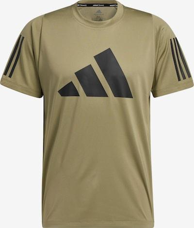 ADIDAS PERFORMANCE Funktionsshirt 'FreeLift' in khaki / schwarz, Produktansicht