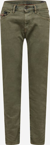 DIESEL Teksapüksid 'STRUKT', värv roheline