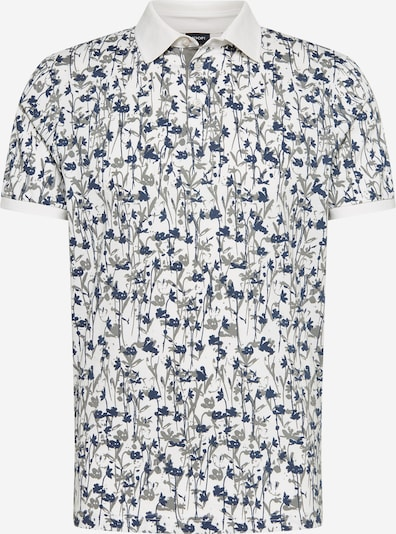 JOOP! Koszulka 'Perino' w kolorze niebieski / białym, Podgląd produktu