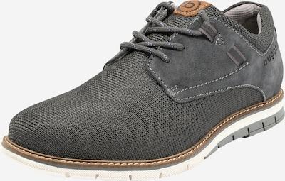 bugatti Chaussure à lacets 'Simone Comfort' en gris foncé, Vue avec produit
