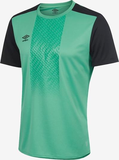 UMBRO T-Shirt in grün / schwarz, Produktansicht