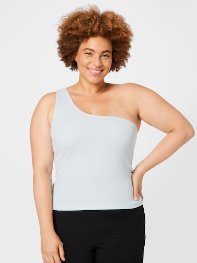 Cotton On Curve Top 'ZINNY' in weiß: Frontalansicht