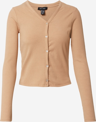 NEW LOOK Strickjacke in camel, Produktansicht