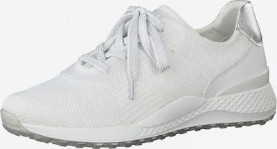 MARCO TOZZI Sneaker in silber / weiß, Produktansicht
