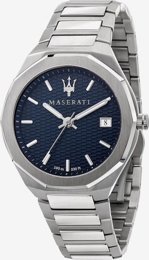 Maserati Quarzuhr 'STILE' in silber, Produktansicht