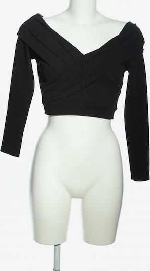 Boohoo Cropped Shirt in XXS in schwarz, Produktansicht