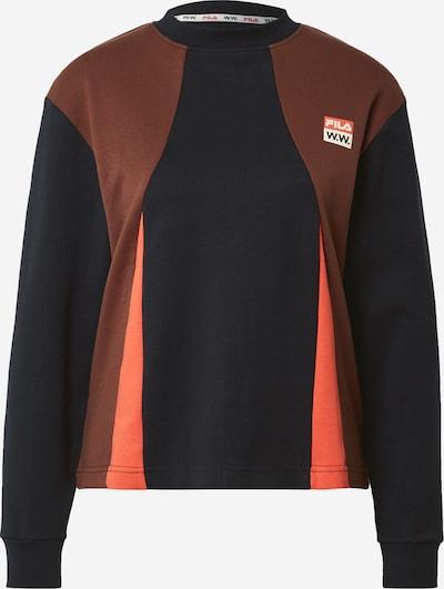 Maglietta 'MONICA' FILA di colore rosso / nero, Visualizzazione prodotti