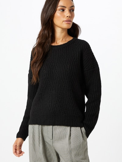 ABOUT YOU Pullover  'Nadia' in schwarz: Frontalansicht