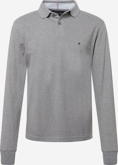 TOMMY HILFIGER Shirt in navy / graumeliert / rot / weiß, Produktansicht