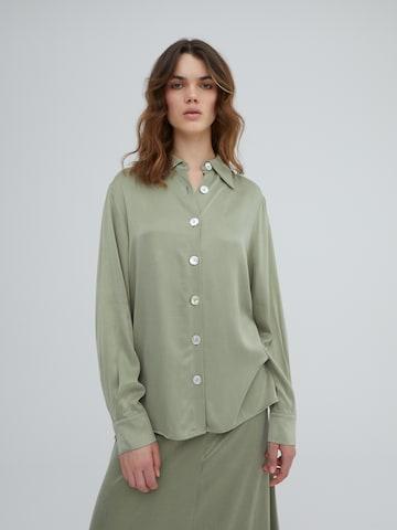 Chemisier 'Ramona' EDITED en vert