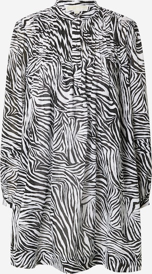 Rochie tip bluză MICHAEL Michael Kors pe negru / alb, Vizualizare produs