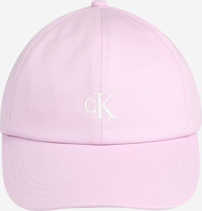 Calvin Klein Jeans Cap in rosa / weiß, Produktansicht