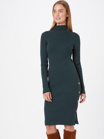 VILA Gebreide jurk in Groen