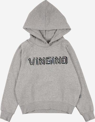 VINGINO Sweatshirt 'Neileen' in graumeliert / schwarz, Produktansicht