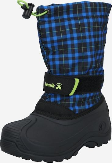 Sniego batai 'FINLEY' iš Kamik , spalva - tamsiai mėlyna / žaliosios citrinos spalva / juoda, Prekių apžvalga