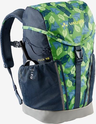 VAUDE Plecak sportowy w kolorze ciemnoszary / jasnozielonym, Podgląd produktu