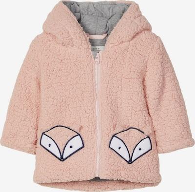 NAME IT Jacke in grau / rosa / schwarz / weiß, Produktansicht