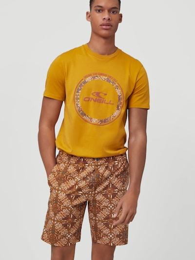 O'NEILL Nohavice 'Lombok' - hnedá / horčicová / čierna / biela, Model/-ka
