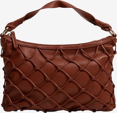 MANGO Ročna torbica | rjasto rjava barva, Prikaz izdelka