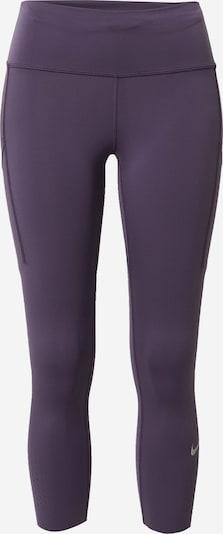NIKE Spodnie sportowe 'Epic Luxe' w kolorze ciemnofioletowym, Podgląd produktu