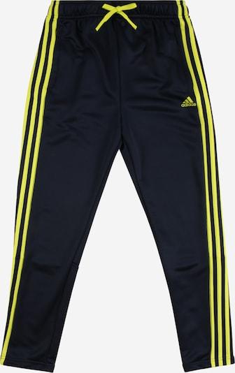 ADIDAS PERFORMANCE Sporthose in navy / neongelb, Produktansicht
