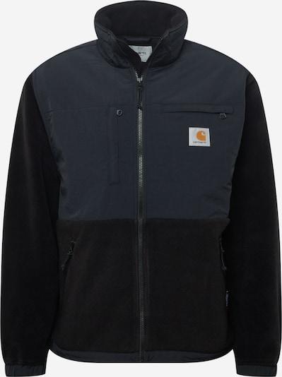 Carhartt WIP Fleece jas 'Nord' in de kleur Donkergrijs / Zwart, Productweergave