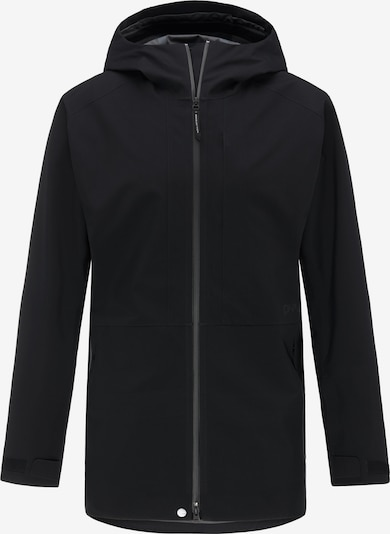 PYUA Outdoorjas 'Excite' in de kleur Zwart, Productweergave