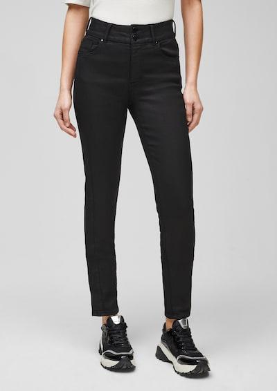 s.Oliver BLACK LABEL Jeans in schwarz, Modelansicht