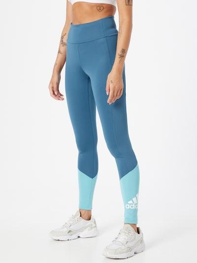 ADIDAS PERFORMANCE Športové nohavice - tyrkysová / nebesky modrá / biela, Model/-ka