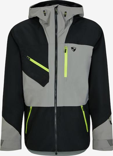 ZIENER Athletic Jacket 'TRUS' in Grey / Black, Item view
