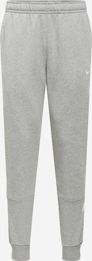 Nike Sportswear Housut värissä harmaa / musta / valkoinen, Tuotenäkymä