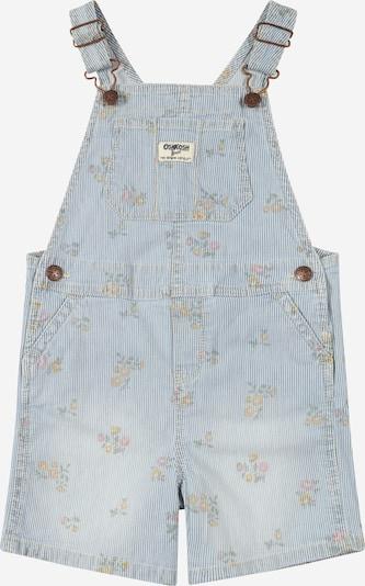 OshKosh Jean en bleu clair / vert clair / orange / rose / blanc, Vue avec produit