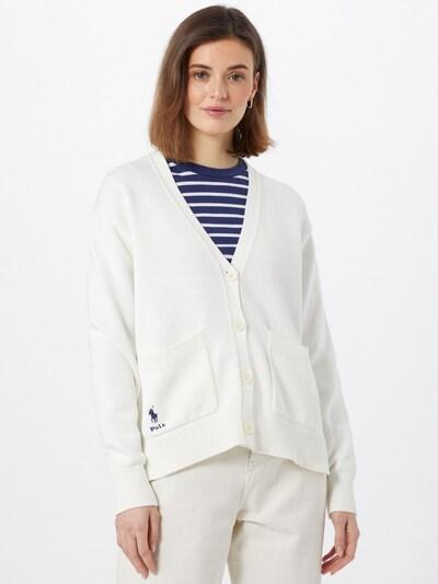 POLO RALPH LAUREN Gebreid vest in de kleur Donkerblauw / Wit, Modelweergave