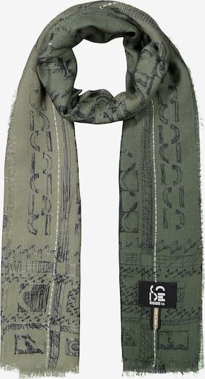 CODELLO Schal in grün / schwarz / weiß, Produktansicht