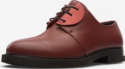 CAMPER Veterschoen 'Twins' in de kleur Rood / Lichtrood, Productweergave