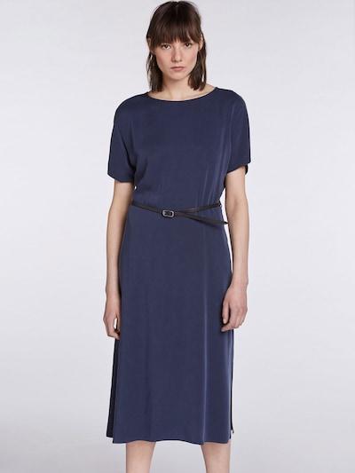 SET Robe en bleu foncé / noir, Vue avec modèle