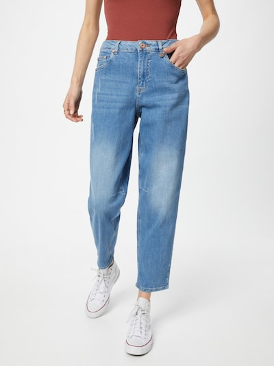 PULZ Jeans Teksapüksid 'EMMA' sinine denim, Modellivaade