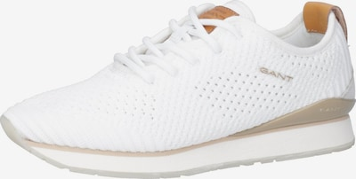 GANT Sneaker in honig / offwhite: Frontalansicht