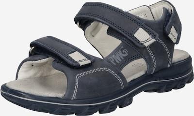 PRIMIGI Chaussures ouvertes en bleu foncé, Vue avec produit