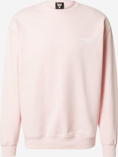 PARI Sweat-shirt 'SPORTS CLUB' en rose pastel / blanc, Vue avec produit