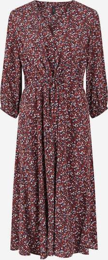 Y.A.S Kleid in bordeaux / weiß, Produktansicht