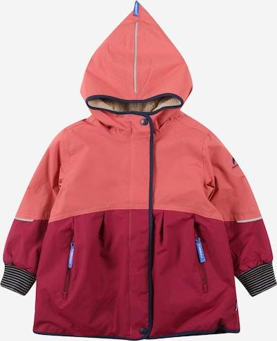 FINKID Veste fonctionnelle 'AINA MUKKA' en bleu marine / framboise / rosé, Vue avec produit
