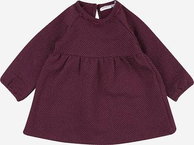 NAME IT Kleid 'RILIS' in pflaume / weiß, Produktansicht