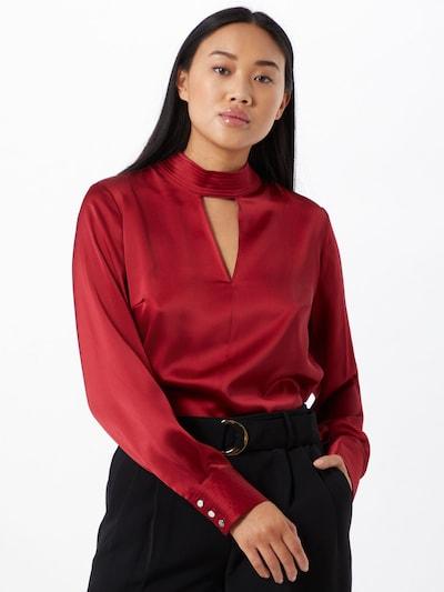 DKNY Bluse in rot, Modelansicht