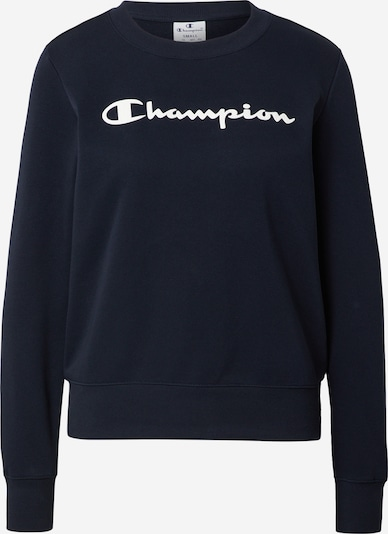 Champion Authentic Athletic Apparel Sweat-shirt en bleu marine / blanc, Vue avec produit