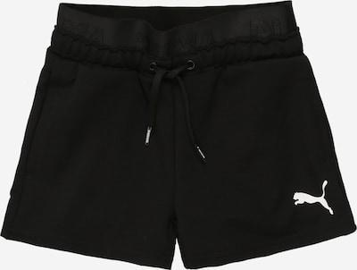 PUMA Shorts in schwarz / weiß, Produktansicht