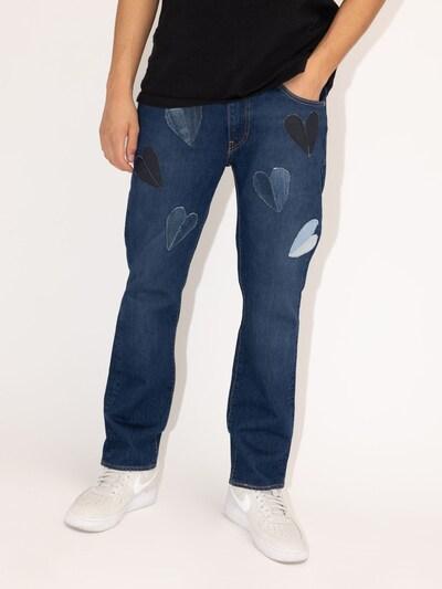 Levi's® Upcycling Jeans 'Kelvyn Colt Design 511' in blue denim: Frontalansicht