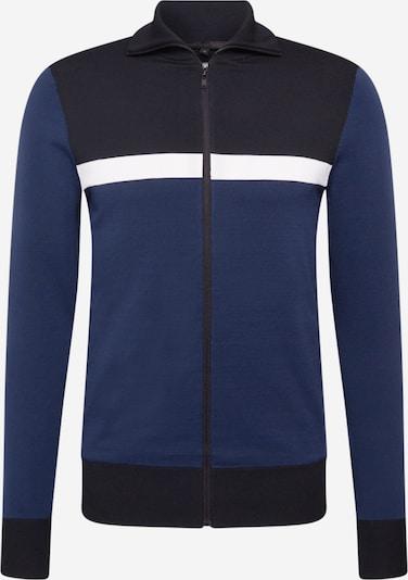 DRYKORN Strickjacke 'AYDEN' in blau / dunkelblau / weiß, Produktansicht
