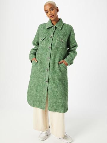 Claire Between-Seasons Coat 'Khloe' in Green