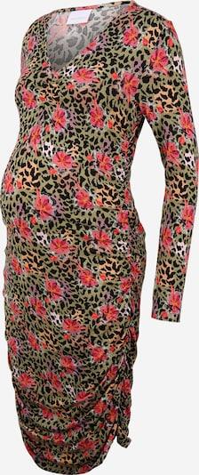 MAMALICIOUS Kleid 'CHARO' in mischfarben / schwarz, Produktansicht